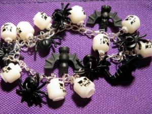 Spooky Lego Bracelet