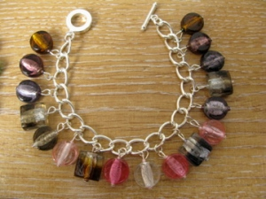 Glass bead bracelet 2