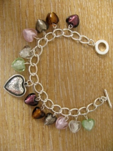 Glass bead bracelet 3